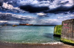 Costinesti's shipwreck 3 (crymy) Tags: sea sky sun beach water clouds canon raw ship shipwreck romania hdr photomatix costinesti 40d canoneos40d hdrfrom3raws crymy