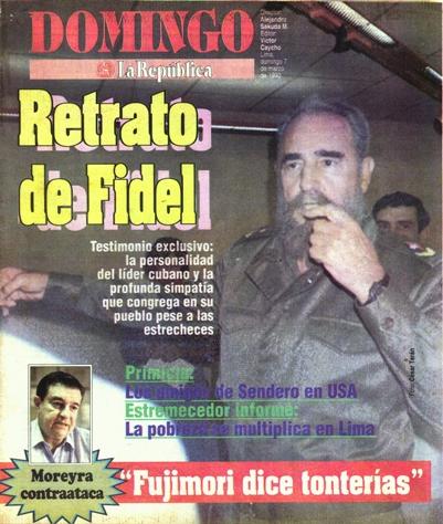 Portada Fidel Castro. 1993
