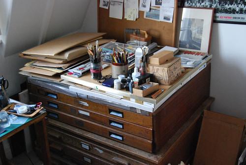 grandpa's filing cabinet