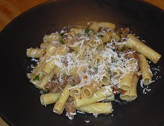 Rigatoni with Sausage
