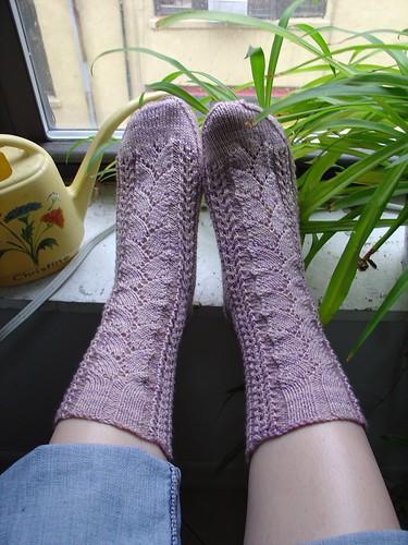 Seawool Lace Socks
