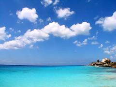 Playa Azul (zanzibar) Tags: travel sun water mexico island marine mare blu turquoise sunny caribbean cozumel azzurro turchese playaazul caraibi 2pair