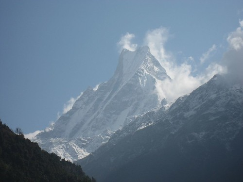 Machhapuchhre (aka Fishtail) as seen from Chomrong