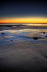 Yellow Horizon (Christolakis) Tags: sea beach sunrise sand lowtide soe hdr 3exp canon400d anawesomeshot theperfectphotographer shornclifffe