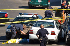 Crime Doesn't Pay (Studio H (Chris)) Tags: oakland police shooting fatal oaklandpolice alamedapolice