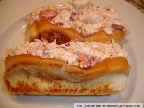Mix the cool lobstermeat and the Cains Mayo and place into warm grilled buttered rolls for the worlds greatest lobster roll.