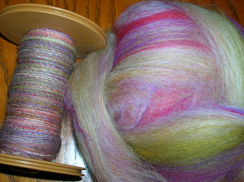 Dave Simpson Fiber Blends - Lily Garden