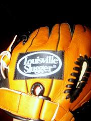 My first softball glove.