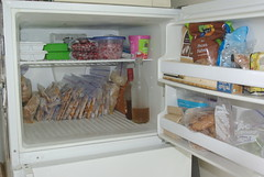 This is what a *real* vegan freezer looks like.