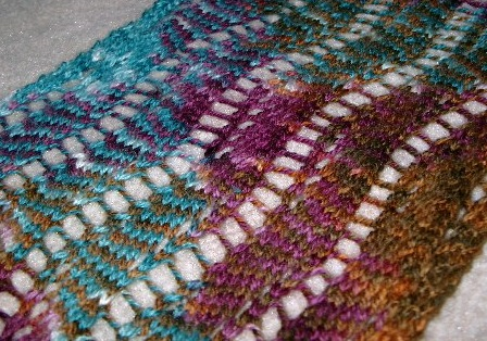 Knitting Pattern For Ribbon Scarf : The knit has hit the fan