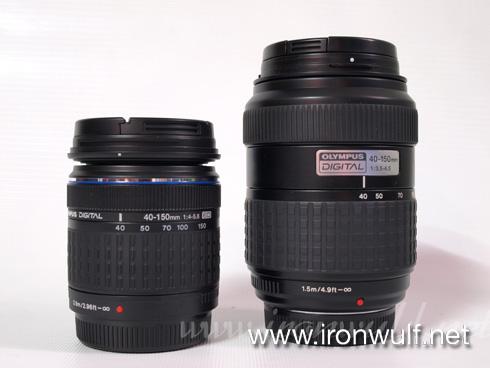 Zuiko Kit Lens 40-150mm Comparison