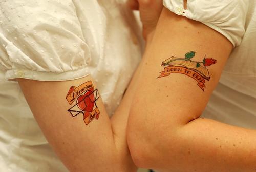 #98 - Librarian tattoos