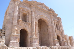 Hadrian's Arch, the entrance to Jerash