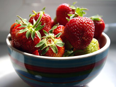 the sweetest thing (lorien_PL) Tags: strawberries summer fruit sweet colourfull