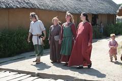 Eröffnungsfeier der 7 Wikinger Häuser - Midgaard Skalden in Haithabu - Museumsfreifläsche Wikinger Museum Haithabu WHH 07-06-2008