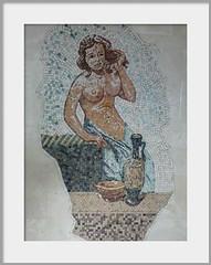 Marble  Mosaic (przemko.stachowski) Tags: woman art hair relax bathroom design bath mosaic interior toilette mosaico rest marble spa toilete ancientstyle przemkostachowski
