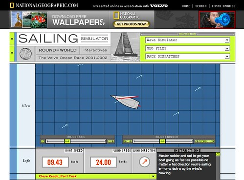 sailing simulator