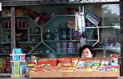 tinda (jobarracuda) Tags: china store chinese fz50 dongguan saleslady tindahan panasoniclumixdmcfz50 jobarracuda jobar