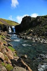 Foss i Núpi i Haukadal