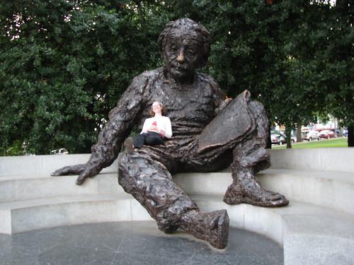 Einstein's lap