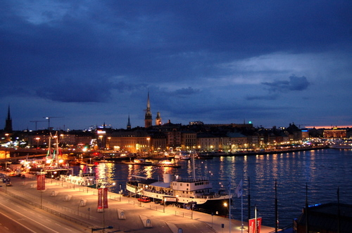 Night in Stockholm