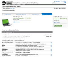 Dell Studio 17 Laptop