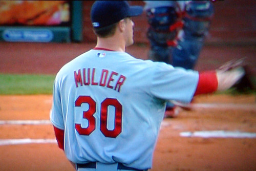 Mark Mulder on the mound