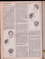Hair Sets Woodruff and Fowlkes (rlweisman) Tags: 1969 hair setting redbook diagrams makeovers judywoodruff redbookmagazine jimmiefowlkes
