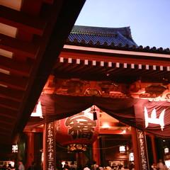 【写真】ミニデジで撮影した浅草寺本堂