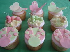 A Bug's Life (Happiness in a Bite) Tags: cute pinkcupcakes butterflycupcakes greencupcakes ladybugcupcakes caterpillarcupcakes