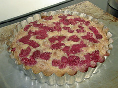 Raspberrry Buttermilk Cake