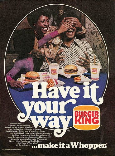 1976 Burger King Ad - Have it your way por SA_Steve.