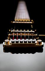Guitarre (Lucidmedia-Flickr) Tags: stillleben foto fotografie nacht band schwarz stills dunkel perspektive kassel seiten guitarre lucidmedia fotoproduktion