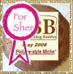 """For Sher"" Badge"