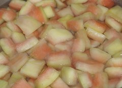 boiling watermelon rind