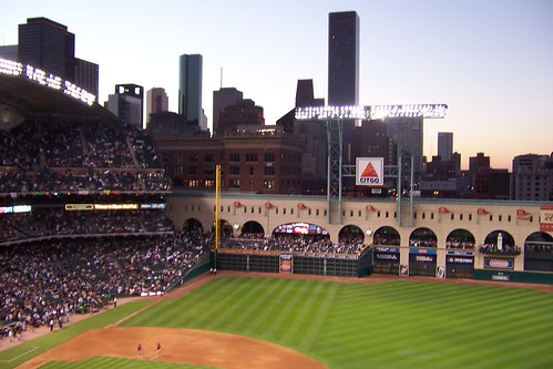 Minute Maid Park at World Series by Bukowsky18.