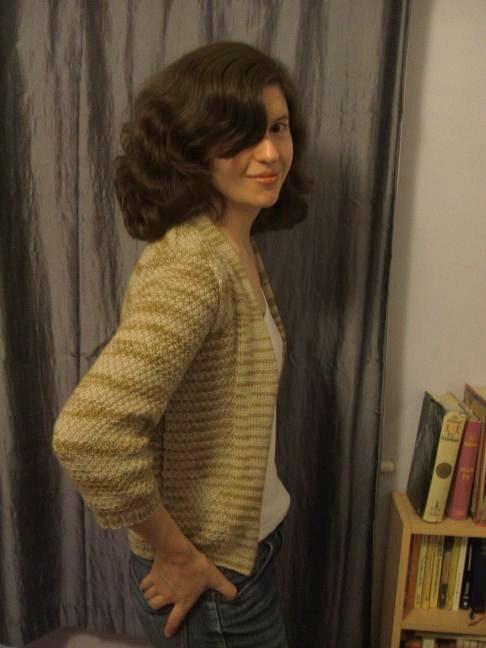 Minimalist cardigan - FO
