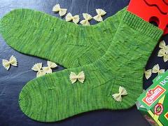 Farfalle socks 5