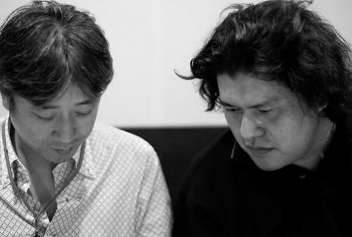 Mr. Kubo and Kenji Eno