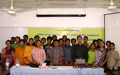 Youth human rights and journalism camp