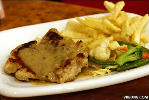 garlic chicken chop