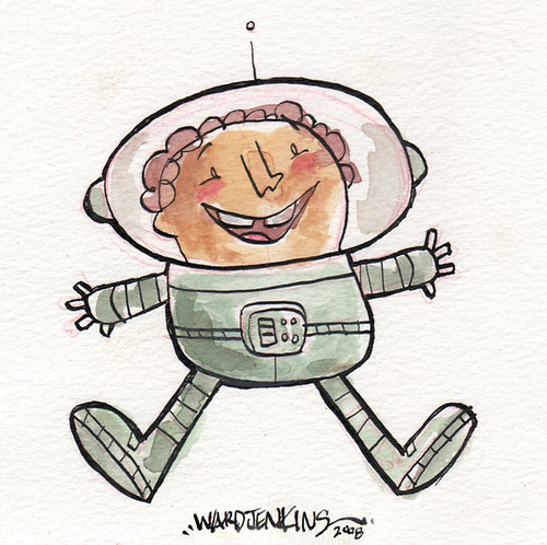 Space kid!