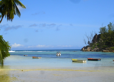 Near Port Glaud on Mahe (Seychelles)