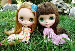 Vanessa and Ramona, green chips