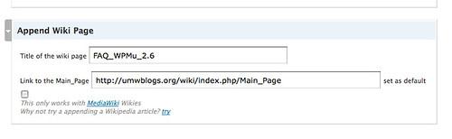 Wiki Inc Plugin for WordPress