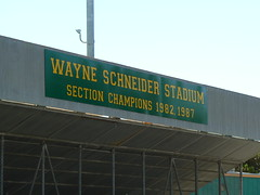 Tracy High stadium