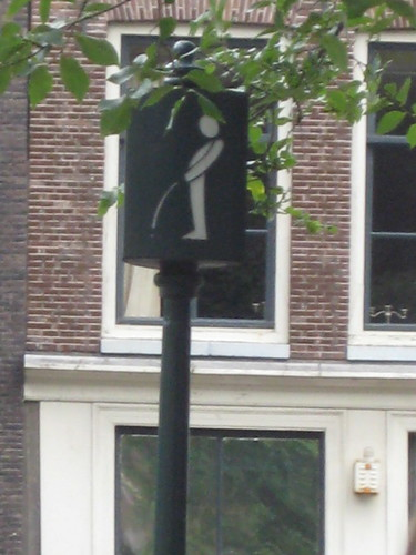 Amsterdam - guys can pee here!