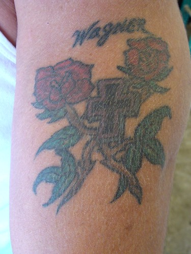 Cross Tattoos With Roses