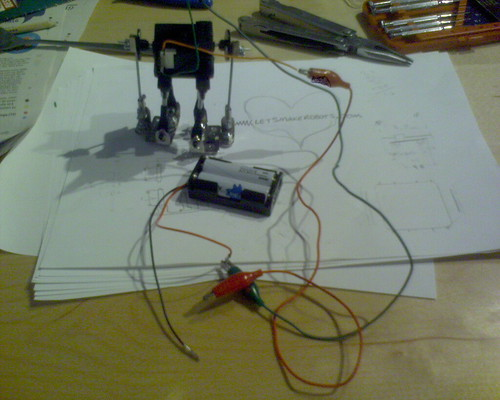 how to make a biped robot