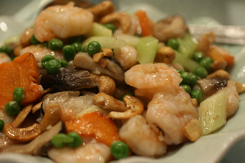 Shrimp Cashew and Veg
